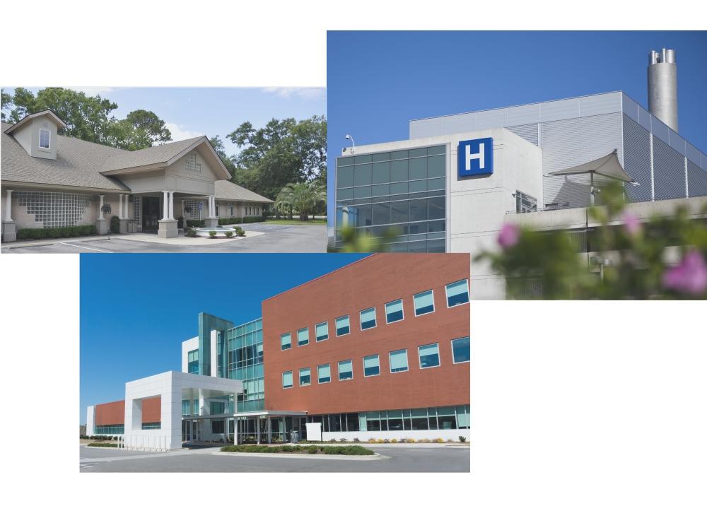 Small Clinics to Large Hospitals & Medical Schools