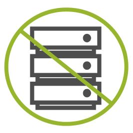 No on premise server